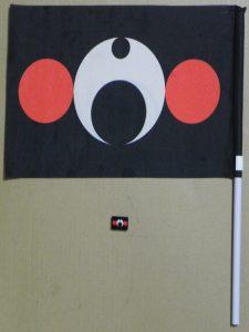 くま紋旗&くま紋バッジ
