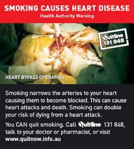 SMOKING CAUSES HEART DISEAASE