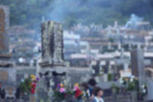 五島のお墓