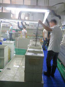 メッキ工場④