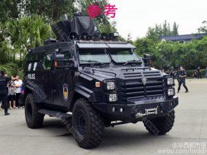 中国人民武装警察部隊#特殊警察部隊車両