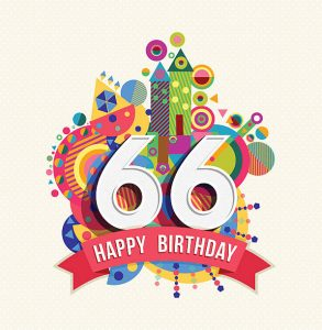 Happy Birthday 66th