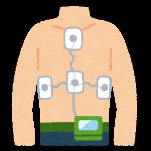 携帯用 24 時間連続記録心電計計測