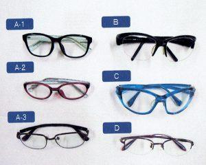 実験に使われた眼鏡