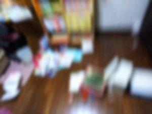 地震直後の別宅・次女の部屋