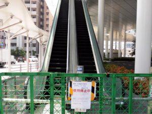 JR茨木駅・エスカレーター