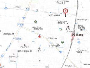 香里園地図
