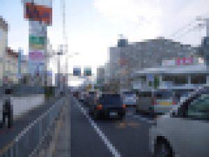 大阪北部地震・国道170号線
