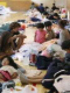大阪北部地震・避難所