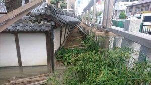 大阪北部地震・茨木神社