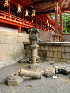 大阪北部地震・石清水八幡宮