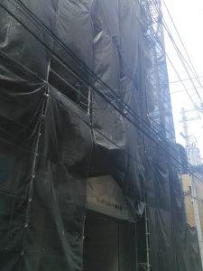 大阪北部地震・寝屋川市内のダメージを受けたマンション①