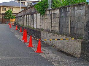 大阪北部地震・小学校の壁①