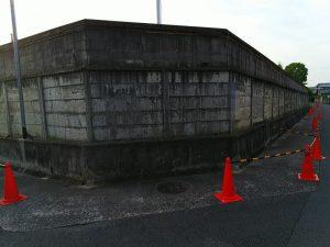 大阪北部地震・小学校の壁②