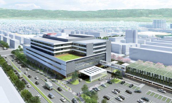 熊本市民病院完成イメージ