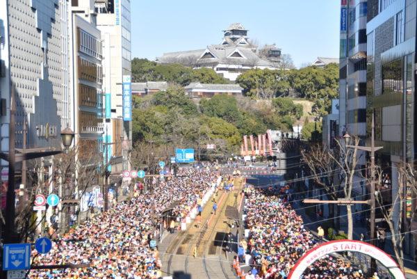 熊本城マラソン 2018