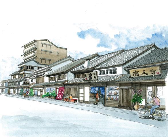 町並み復旧保存支援(イメージ)