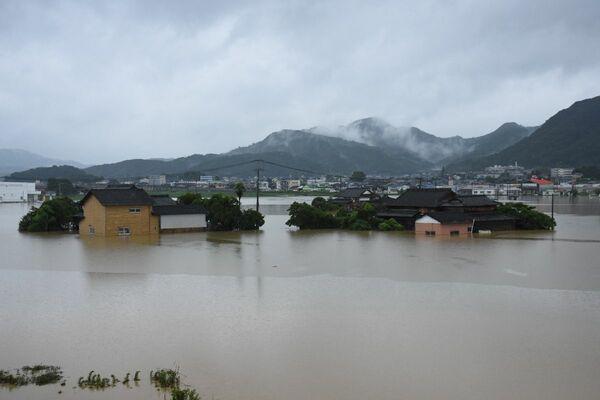 佐賀県武雄市浸水