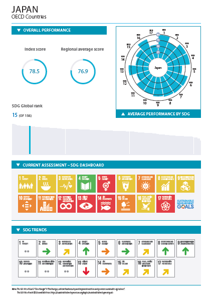 SDGs日本の評価(2019)